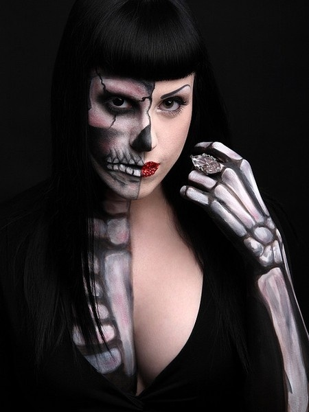 Last-Minute Halloween Makeup Ideas (Photos) | THE FLYCANDY POST