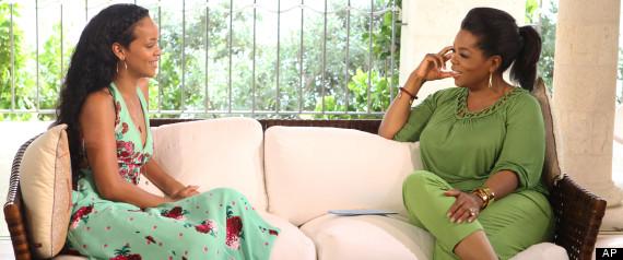 OW interviews Rihanna in Barbados